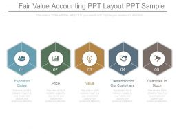 Fair Value Accounting Ppt Layout Ppt Sample