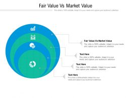 Fair Value Vs Market Value Ppt Powerpoint Presentation Gallery Design Inspiration Cpb