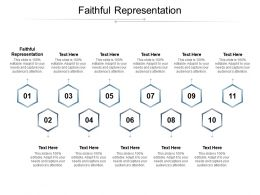 Faithful Representation Ppt Powerpoint Presentation Styles Sample Cpb