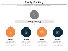 Family Banking Ppt Powerpoint Presentation Infographic Template Visual Aids Cpb