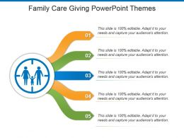 Family Care Giving Powerpoint Themes