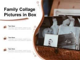 Family Collage Pictures In Box