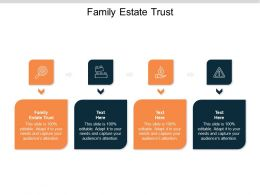 Family Estate Trust Ppt Powerpoint Presentation Ideas Professional Cpb