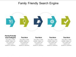 Family Friendly Search Engine Ppt Powerpoint Presentation Gallery Layout Cpb
