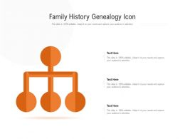 Family History Genealogy Icon