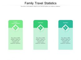 Family Travel Statistics Ppt Powerpoint Presentation Gallery Aids Cpb