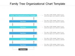 Family Tree Organizational Chart Template Ppt Powerpoint Presentation Icon Slides Cpb