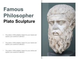 Famous Philosopher Plato Sculpture