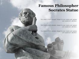 Famous Philosopher Socrates Statue