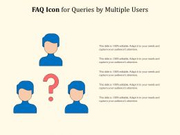 FAQ Icon For Queries By Multiple Users