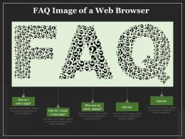 FAQ Image Of A Web Browser