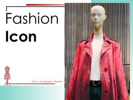 Fashion Icon Measuring Magazine Ecommerce Individual Material Designer