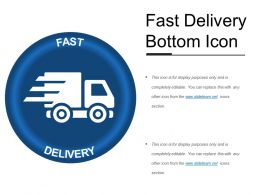 Fast Delivery Bottom Icon
