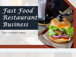 Fast Food Restaurant Business Powerpoint Presentation Slides