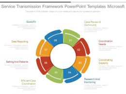 Favor Transfer Process Model Powerpoint Templates Download