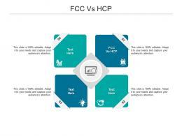 FCC Vs HCP Ppt Powerpoint Presentation Inspiration Ideas Cpb