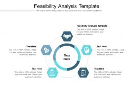 Feasibility Analysis Template Ppt Powerpoint Presentation Model Outfit Cpb