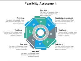 Feasibility Assessment Ppt Powerpoint Presentation Icon Outline Cpb