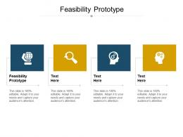Feasibility Prototype Ppt Powerpoint Presentation Pictures Background Designs Cpb