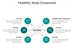 Feasibility Study Components Ppt Powerpoint Presentation Model Show Cpb