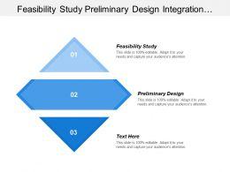 Feasibility Study Preliminary Design Integration Support Customer Service