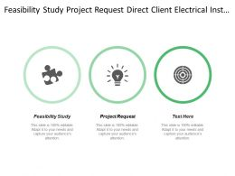 Feasibility Study Project Request Direct Client Electrical Installer