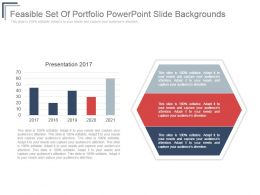 Feasible Set Of Portfolio Powerpoint Slide Backgrounds