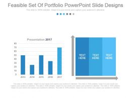 Feasible Set Of Portfolio Powerpoint Slide Designs