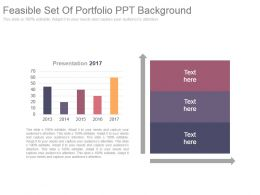 Feasible Set Of Portfolio Ppt Background