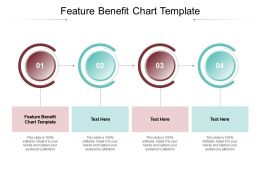 Feature Benefit Chart Template Ppt Powerpoint Presentation Portfolio Themes Cpb