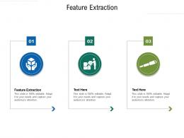 Feature Extraction Ppt Powerpoint Presentation Outline Slides Cpb