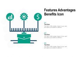 Features Advantages Benefits Icon
