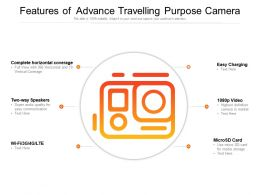 Features Of  Advance Travelling Purpose Camera
