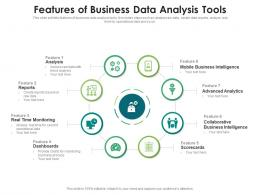 Features Of Business Data Analysis Tools
