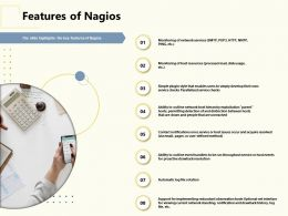 Features Of Nagios Notifications Ppt Powerpoint Presentation Icon Rules