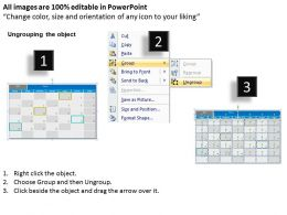 February 2013 Calendar PowerPoint Slides PPT templates