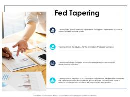 Fed Tapering American Financial Crisis Ppt Powerpoint Presentation Infographics Guide