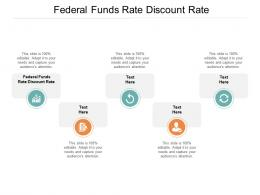 Federal Funds Rate Discount Rate Ppt Powerpoint Presentation Deck Cpb