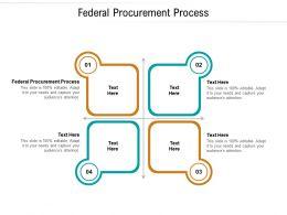 Federal Procurement Process Ppt Powerpoint Presentation Professional Gridlines Cpb