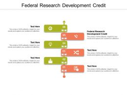 Federal Research Development Credit Ppt Presentation Show Gallery Cpb