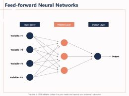 Feed Forward Neural Networks Variable 1 Ppt Powerpoint Presentation Brochure