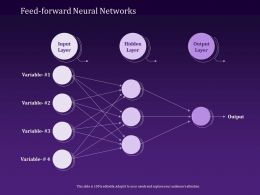 Feed Forward Neural Networks Variable Powerpoint Presentation Templates