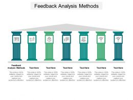 Feedback Analysis Methods Ppt Powerpoint Presentation Outline Tips Cpb