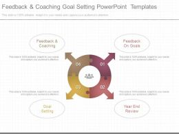 Feedback And Coaching Goal Setting Powerpoint Templates