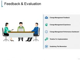 Feedback And Evaluation Ppt Design