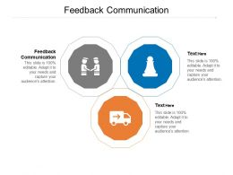 Feedback Communication Ppt Powerpoint Presentation Gallery Samples Cpb