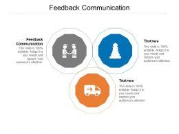 Feedback Communication Ppt Powerpoint Presentation Slides Templates Cpb