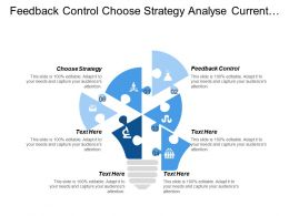 Feedback Control Choose Strategy Analyse Current Situation Gaps Cpb