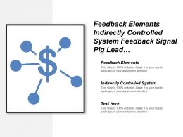 Feedback Elements Indirectly Controlled System Feedback Signal Pig Lead
