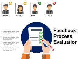 Feedback Process Evaluation Powerpoint Slide Information